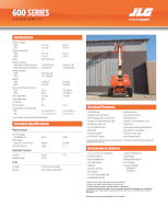 600 Series Telescopic Boom Lift Document