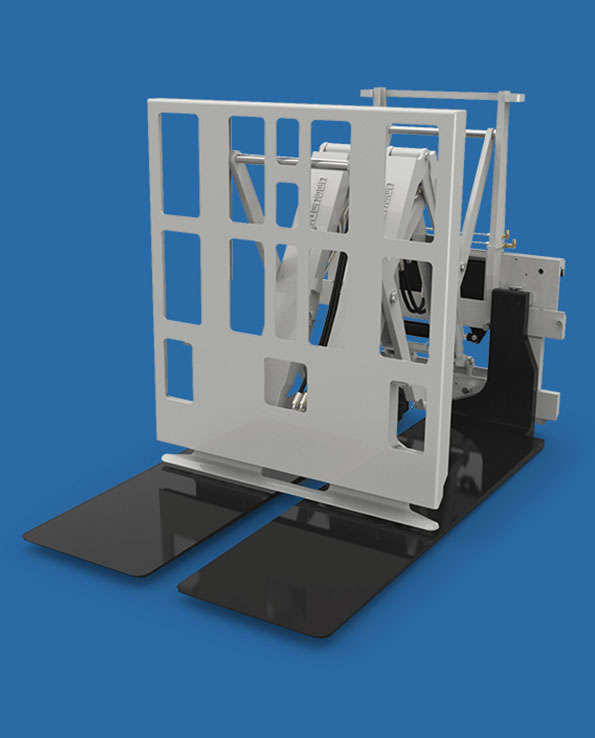 Push Pulls Forklift Attachment