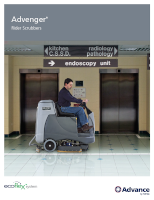 Advenger Industrial Floor Scrubber Document