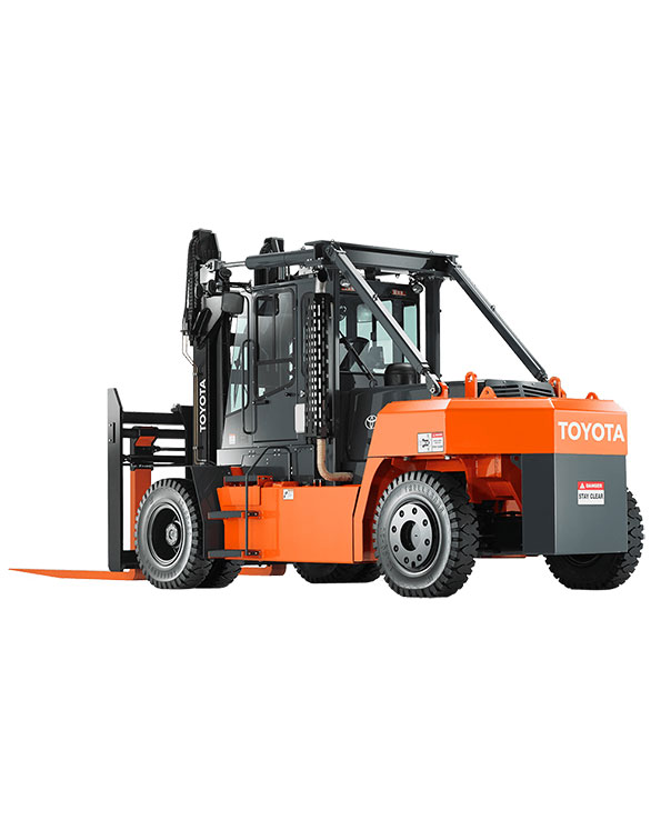 High Capacity Internal Combustion Pneumatic Tire Forklift
