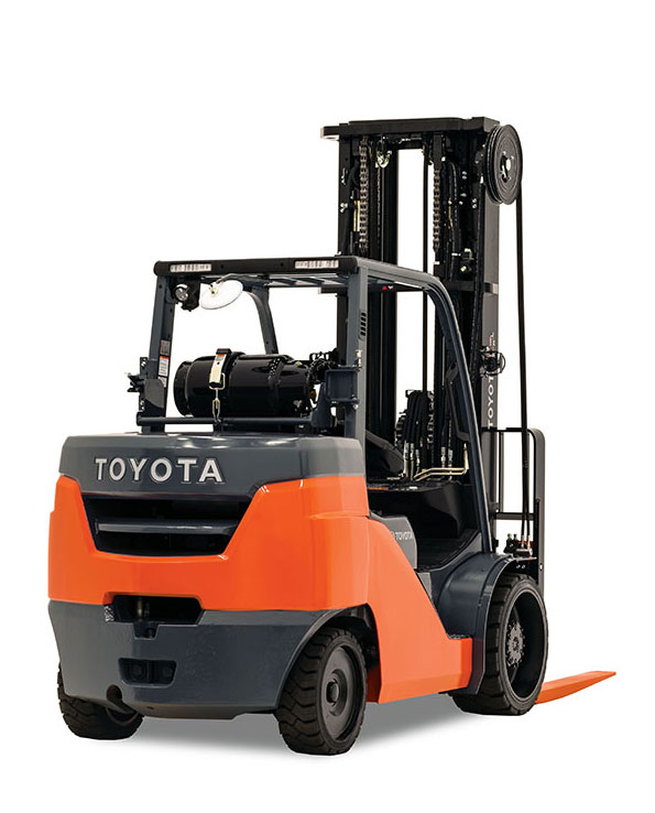 Large Internal Combustion Cushion Tire Forklift