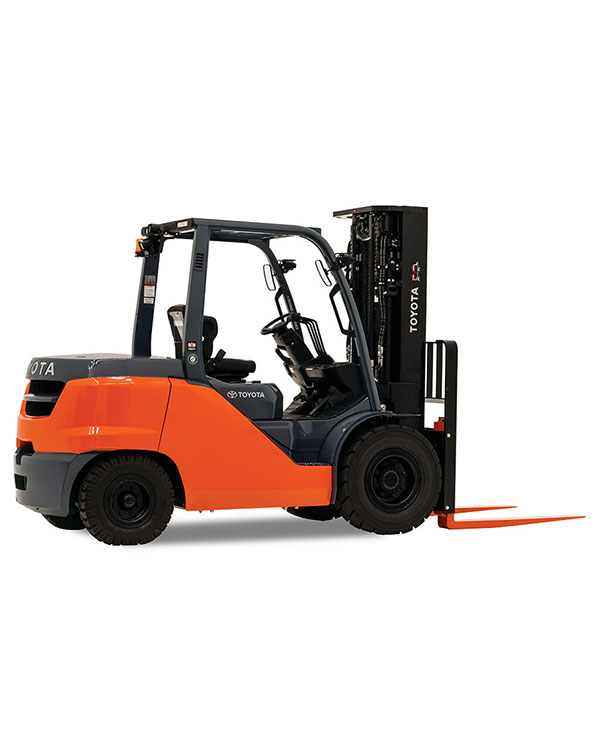 Toyota Mid Internal Combustion Pneumatic Tire Forklift Dealers
