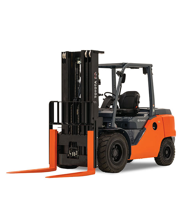 Mid Internal Combustion Pneumatic Tire Forklift