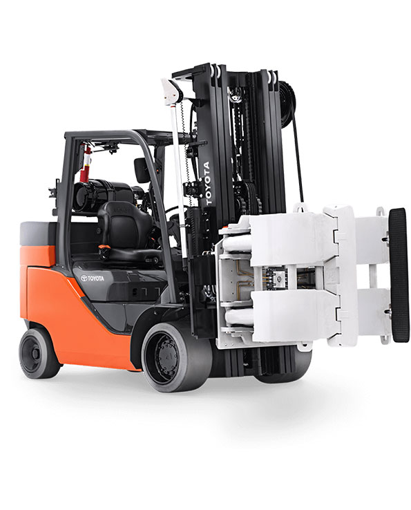 Paper Roll Special Cushion Tire Forklift