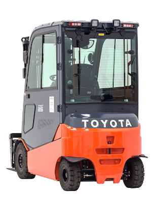 Toyota Electric Pneumatic Tire Forklift